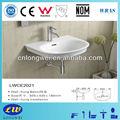 Salle de bains en céramique de mur- hung lavabo/évier de lavage/vanitytop