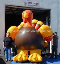 custom inflatable turkey /inflatable advertising goods