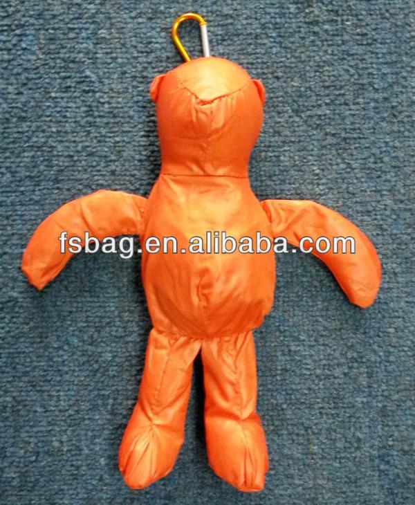 wholesale bear foldable shopping bags