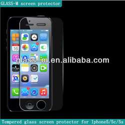 9H New Glowing Round Edge Nano Anti-shock Screen Protector for iPhone 5S (Manufacture!!!!)