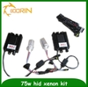 China manufacturer h1,h3,h4,h7,h7,h11,9005,9006 available ,75w h4 hid xenon kit