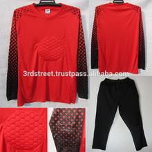 Football Goalkeeper uniform, sublimation goalkeeper uniform, customized goalkeeper jersey 2014