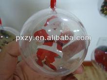 Fashionable christmas ball plastic
