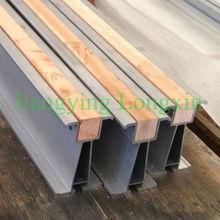 6061-t6 aluminum scaffolding beam with wood insert