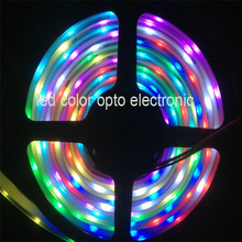 5050 pixel poi DC5V addressable rgb led strip lpd 8806 use for computer shop decoration
