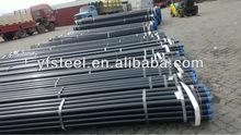 carbon black welded steel pipe ASTM A53 API BS1387 ISO65 JIS3444