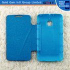 New!! 2014 leather and pc flip battery case cover for alcatel 3040, leather back cover for Alcatel 3040