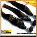 grau 5a 24 polegadas extensões de cabelo humano virgem brasileira cabelos lisos