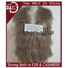 Fashion women real mongolian fur vest trimed rabbit fur and fox fur 12050