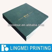 Professional glue bind publication book printing
