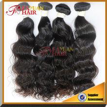 Large stock deep wave unprocessed brazilian virgin hair weave