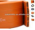 Ascensor cuerdas de alambre especial de aislamiento de pvc y cobre trenzado( un)