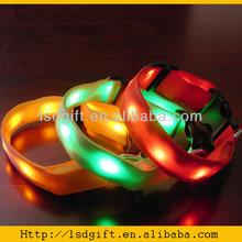 Fashion flashing led dog collar light up dog collar