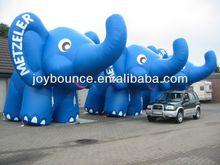 giant inflatable advertising cartoon elephant