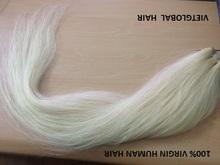 "Hot Hot Hot!!! 20"" Remy Weft platinum blonde human hair"