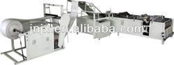 Plastic woven bag cutting machine /cutting & sealing machine for plastic bags