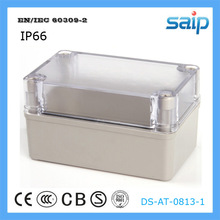 ABS Clear Cover Waterproof Switch Box /Waterproof Enclosures /Electrical Plastic Box With CE Approval 80*130*85 mm Size