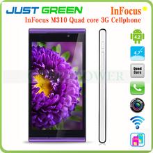 Infocus M310 Quad Core 1.5GHz 1GB/4GB 4.7 inch Dual SIM Mobile Phone Support GSM/WCMA GPS/AGPS G-sensor In Stock