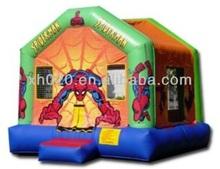 2014 new design inflatable spiderman jumper for kids