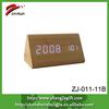 2014 mini digital clock,office table clock,led wood clock