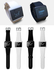 OEM bluetooth smart watch phone/music palyer/answer/reject/redail phone/messege/twitter/facebook update for iphone/android