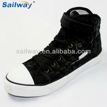 black canvas shoe charm for men women