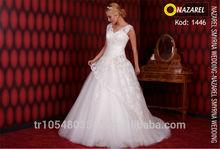 Nazarel 2014 Style Elegant Wedding Dress