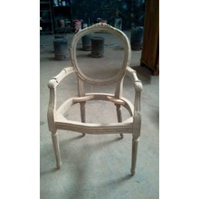 Carcass French dinning chair raw material