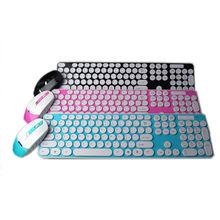 Colored Keyboard 2.4 ghz Wireless Keyboard Calculator Keypad