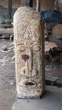asmat estatua de madera