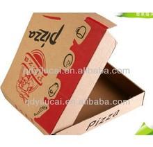 Different size corrugated carton the pizza