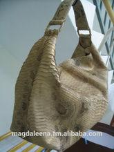 Pure Snake leather handbag/tote