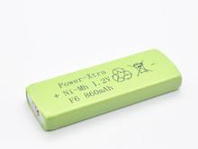 NIMH Prismatic battery NIMH F6 800mAh battery 1.2V