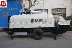 electric engine trailer concrete pump machine made in china