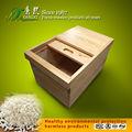 عملية تخزين مربع، صندوق تخزين مصنوعة من خشب الأرز، صندوق تخزين صلبة