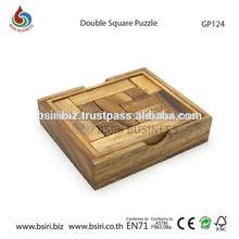 Pentomino doble cuadrado tablero del rompecabezas de rompecabezas juegos