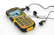 IP67 waterproof rugged phone/ Outdoor camera sos mobile phone for elder people