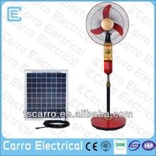 2015 new solar air cooler modern floor standing fan pedestal fan parts