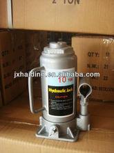 10Ton hydraulic bottle jack with handle
