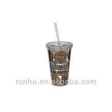 acrylic liquid drinking cups dispenser