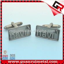 High Quality hot selling custom cufflinks initials