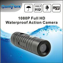 OEM 60fps video camera with IP68 waterproof case, mount accessories hd mini sports camera,rifle air guns