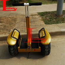 Leadway New arrival Push-button start OFF-Road two wheels self balanced scooter with Antitheft system