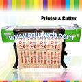 Impresora de corte de vinilo de corte 1.2m dx5 interior/al aire libre ecosolventes plotter