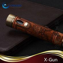 18650 mechanical vape pen vaporizer vision wood x gun