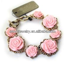 Import Fashion Girls Retro Style Rose Bracelet