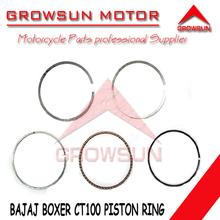 Motorcycle parts Piston Ring for Bajaj Boxer CT100 motorcycle