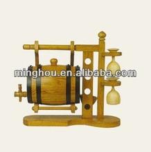 3L 5L 10L pine oak wooden wine barrel