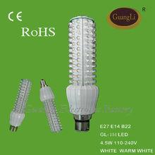 CE ROHS certificate indoor lighting 220v corn lamp e27 led spotlight