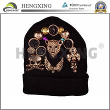 Custom Pom Pom Beanie Hat Face Mask Cheap Beanie Hat
